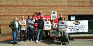 Report from the Picket Line in Leicester
