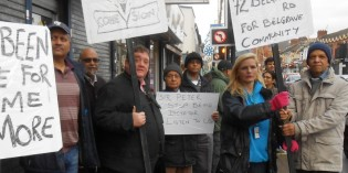 Belgrave Road Protest Highlights Labour's Bankrupt Policy of Cuts
