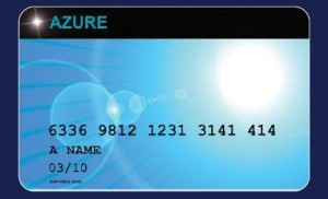 Darker Shade of Blue – Life on the Azure Card