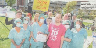 TUSC Shows Support for NHS Campaigners