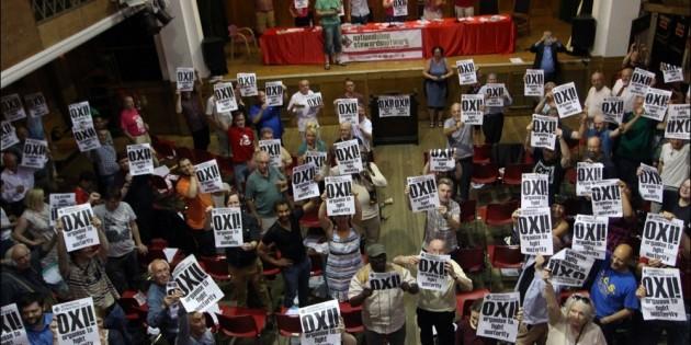 Sacked Greek Worker Brings Solidarity