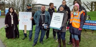 Doctors Launch Strike Action in Leicester