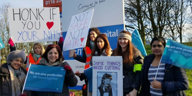 Leicester Doctors Forced into Strike Action