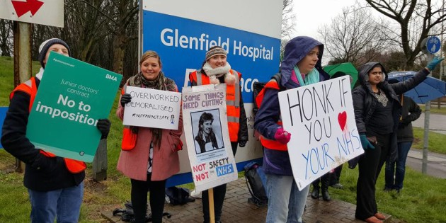 Junior Doctors Defend NHS From Tories
