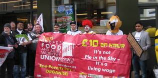 Young Campaigners Brand 'National Living Wage' Fool's Gold