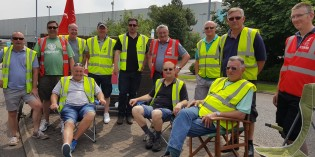 Stunning Six Day Strike Against Argos in Lutterworth