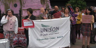 Leicester Stands Up For Corbyn