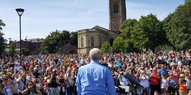 Huge Support for Corbyn and Socialist Ideas in Derby