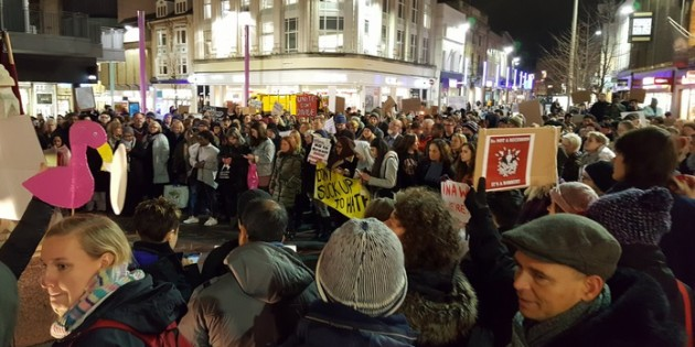 Leicester Defies Trump's Racism