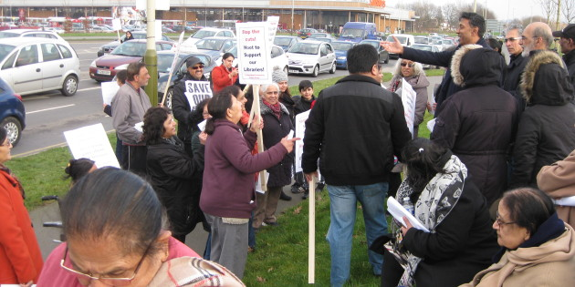 Rushey Mead Are Not Taking Library Cuts Laying Down!