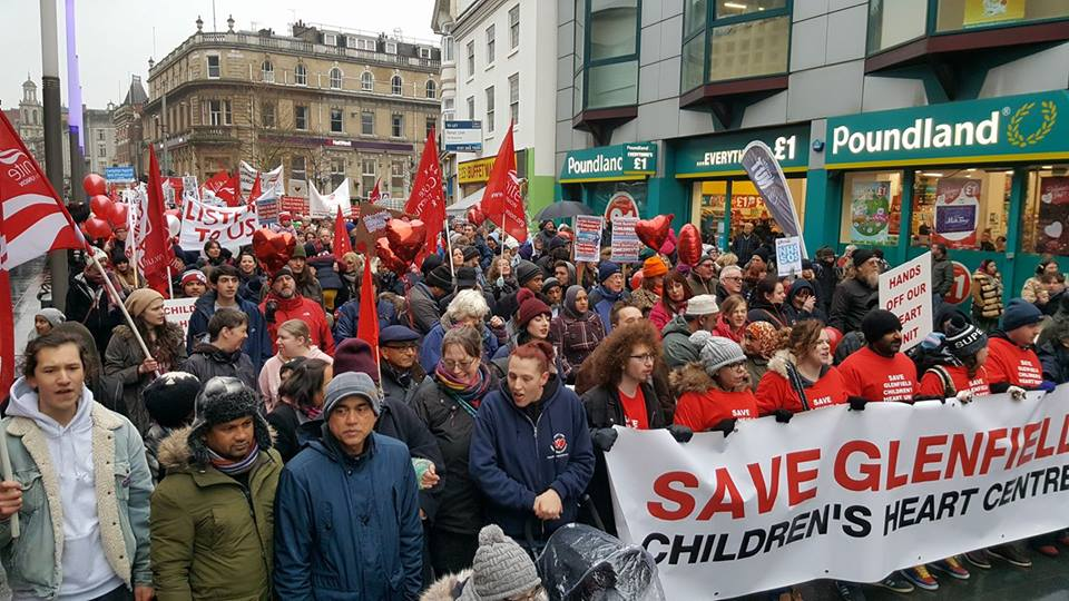 Photo of Leicester March on February 11, 2017