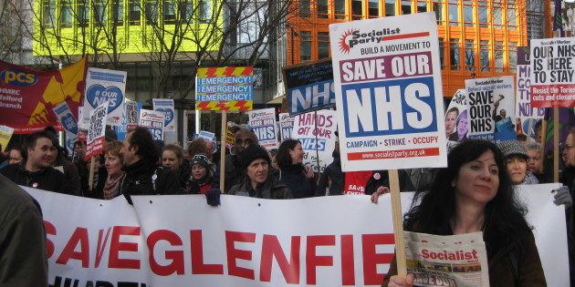 Leicester Campaigners Join Massive Protest in London to Defend NHS
