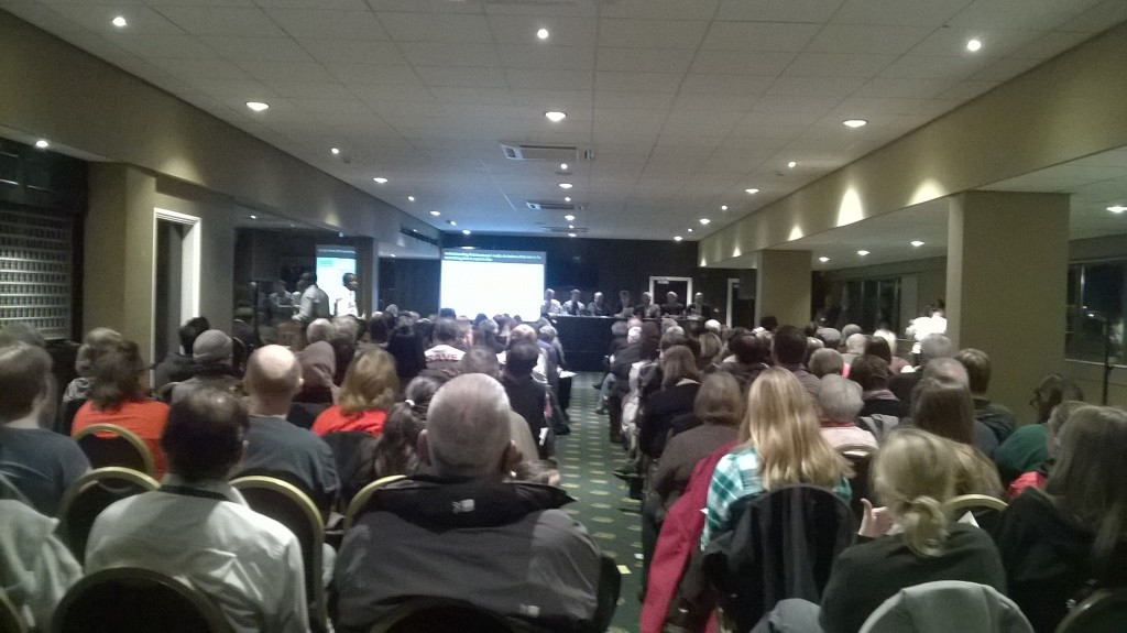 NHS England meeting Leicester