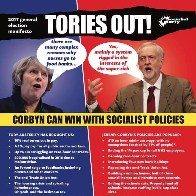 Corbyn leaflet