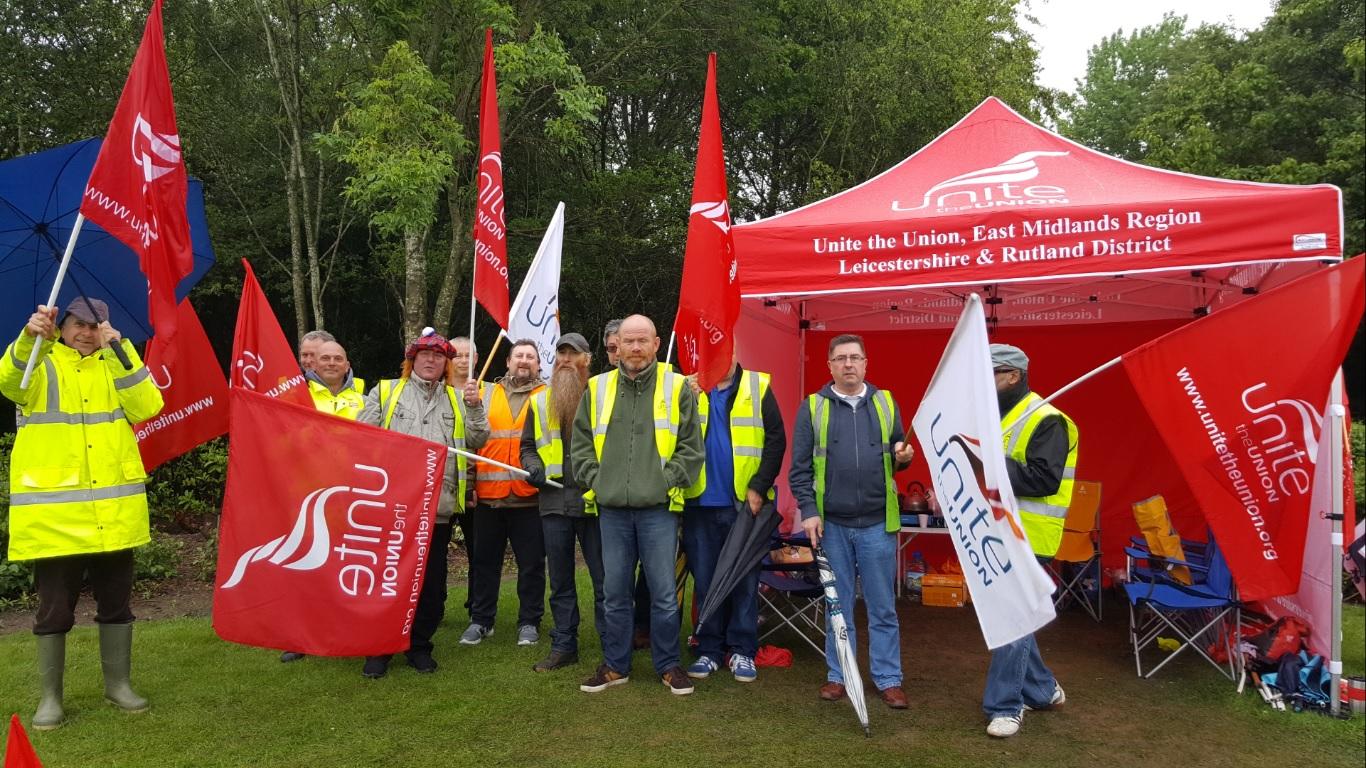 Unite Argos Strike May 2017
