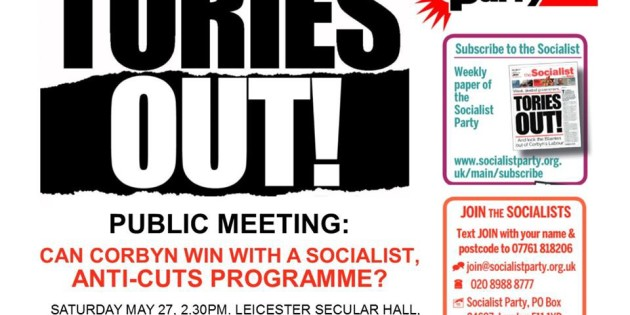Fighting for a Corbyn-led Government