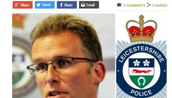 Leicestershire Police Have Just Demanded an End to Further Funding Cuts