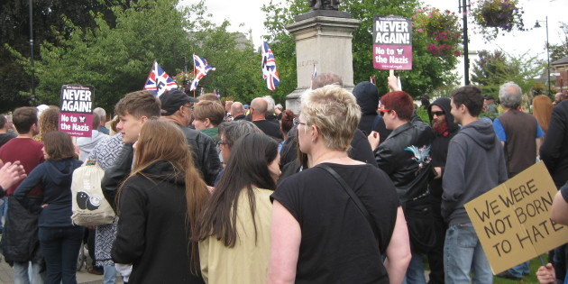 Opposing the National Front in Grantham