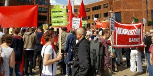 McDonald's Protest in Leicester on Monday