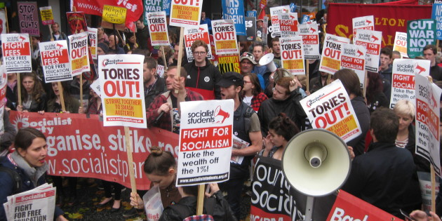 Leicester Socialists Join the Fight Back Against the Tories
