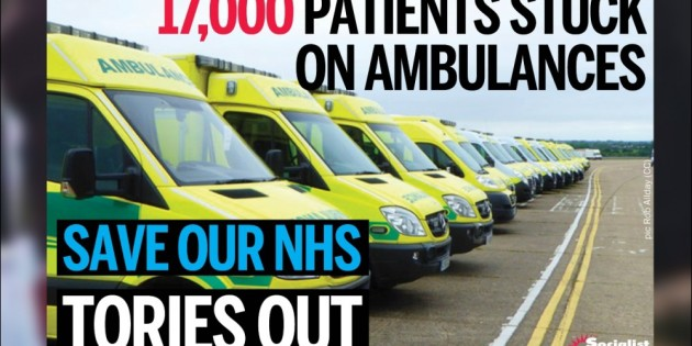 Cuts Cause NHS Crisis